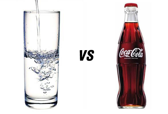 cokeVSwater